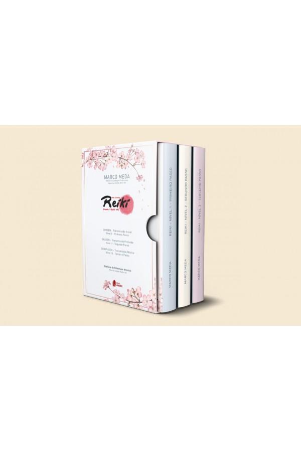 Box Formação Reiki (volume 1,2 e 3) ( Português)