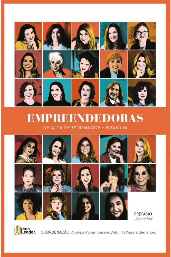 Livro Empreendedoras de Alta Performance Brasília (Português)