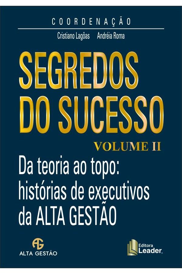 Livro Segredos do Sucesso Volume II