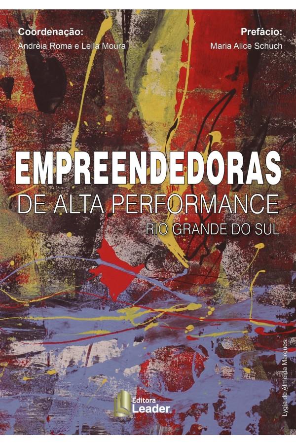 Livro Empreendedoras de Alta Performance Rio Grande do Sul (Português)