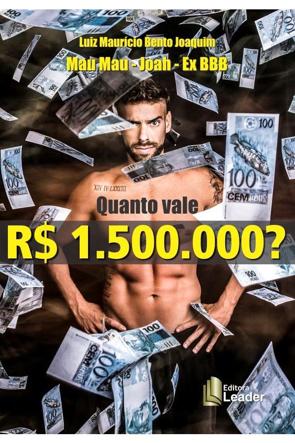 Livro Quanto Vale 1.500.000?
