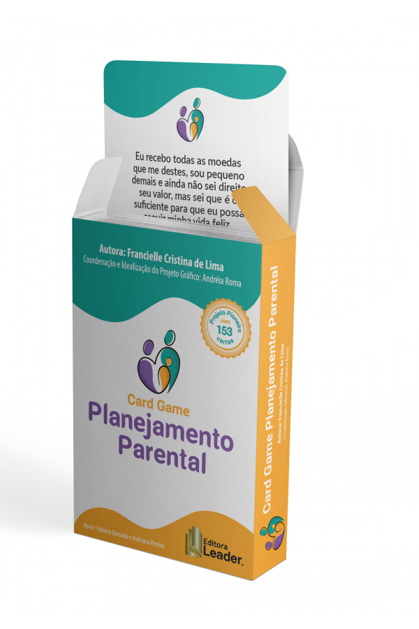 Card Game Planejamento Parental (Português)