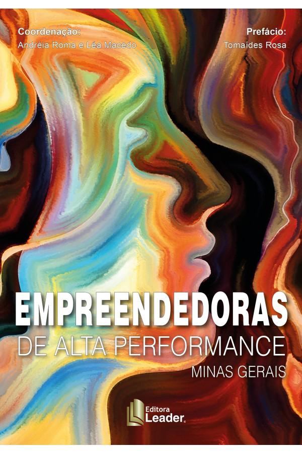 Livro Empreendedoras de Alta Performance Minas Gerais (Português)