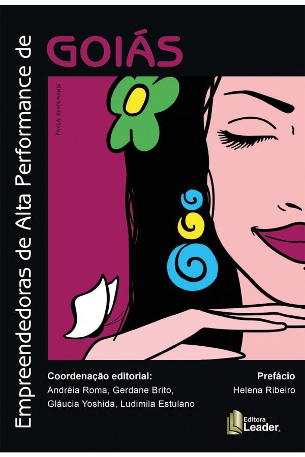 Livro Empreendedora de Alta Performance de Goiás (Português) Volume V