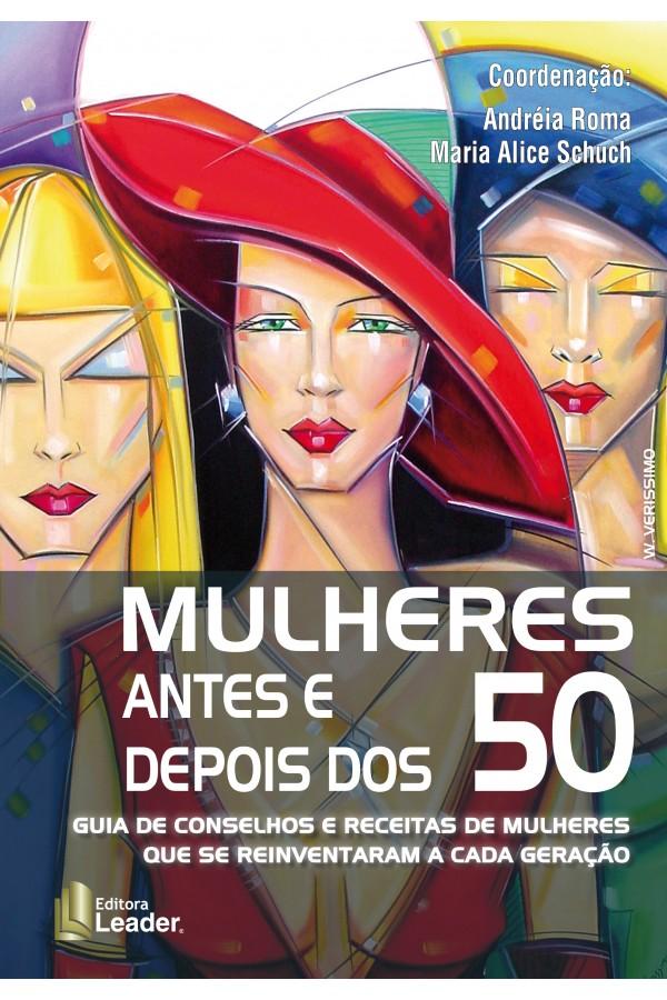 Livro Mulheres Antes e Depois dos 50 (Português)